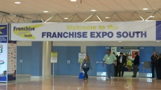 Franchise Expo South at the Miami Beach Convention Center.