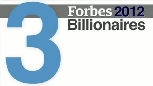 Forbes Billionaires 2012