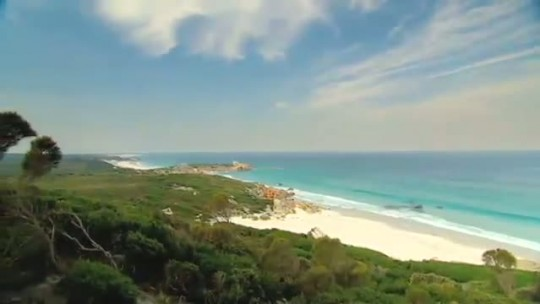 Tasmania, Australia - Seven Miles Beach.
