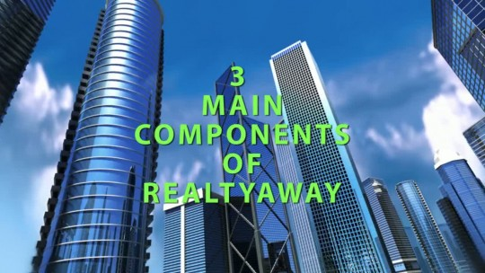 3 Main Components of RealtyAway