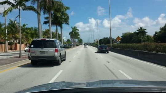 Driving Around Miami International Airport