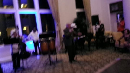 Great Performance caught on a Live Stream for one of the hotel guest at the Ritz Carlton, Key Biscayne.