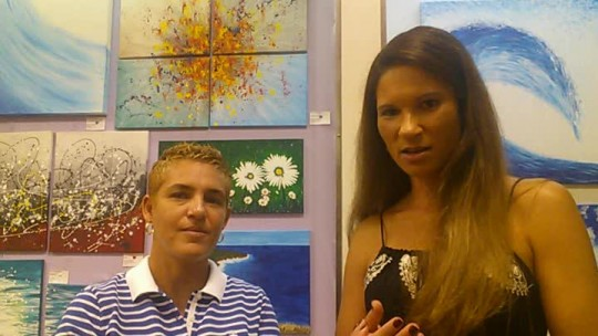Glenda...Interview...Brazilian Artist