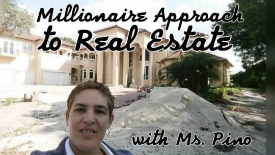 Ms. Pino launches Millionaire Approach to Real Estate TV Show. Live Stream.