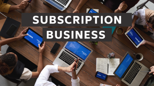 Subscription-based Business Model. Live Stream #716.