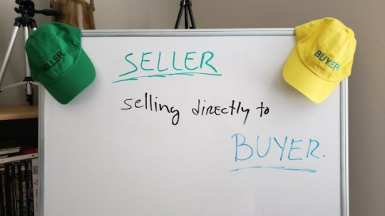 SELLER selling directly to BUYER. Live Stream #719.