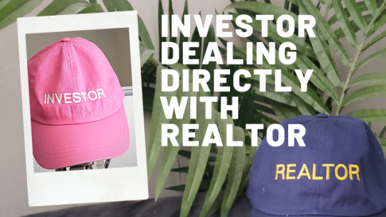 INVESTOR dealing directly with REALTOR. Live Stream #721.