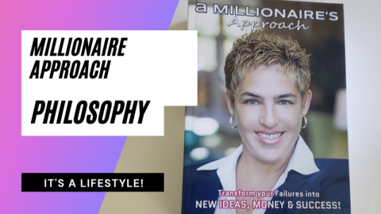Millionaire Approach Philosophy is a Lifestyle. Live Stream 726.