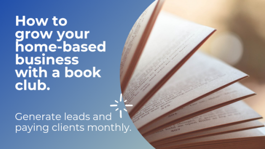 How to Grow your Home-based Business with a Book Club. Live Stream #729.